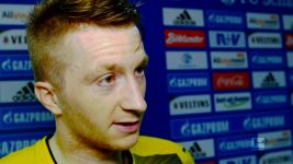 Watch: Reus hell-bent on Champions League place