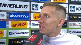 Watch: Pablo de Blasis on his half-time goal