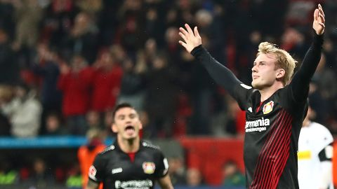 Watch: Julian Brandt on fire