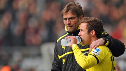 Jürgen Klopp backs Mario Götze