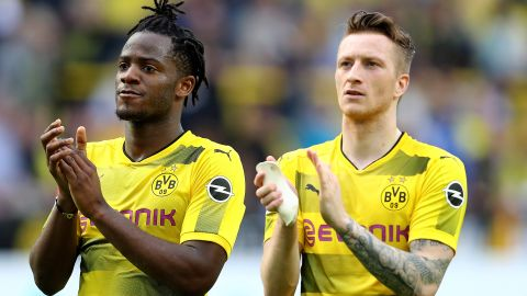 Reus: Dortmund's solution at centre-forward?