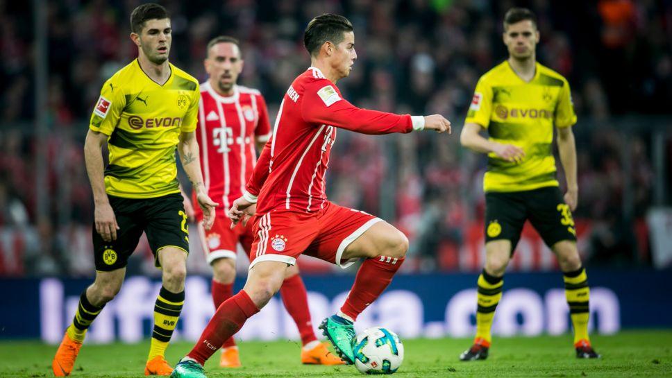Bundesliga Over 30 000 Euros Raised For Charity From Bayern Munich And Borussia Dortmund Match Worn Klassiker Jerseys