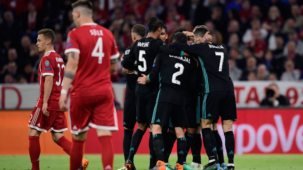 0d0cca61fc3 Advantage Real Madrid as Marcelo and Asensio cancel out Kimmich's opener  for Bayern Munich