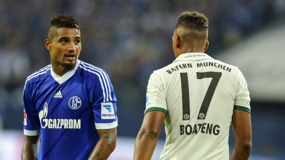 Bundesliga Jerome And Kevin Prince Boateng Brothers In Boots