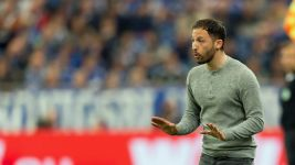 Domenico Tedesco hoping for Madrid or Barca
