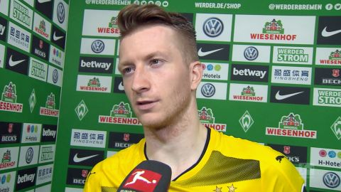 "Watch: Reus: ""I should've scored a second"""