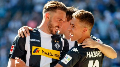 Hazard on target as Gladbach down Freiburg