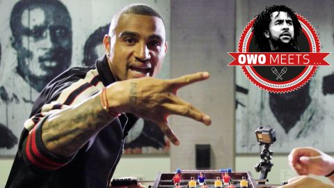 Watch: Owo meets Kevin-Prince Boateng