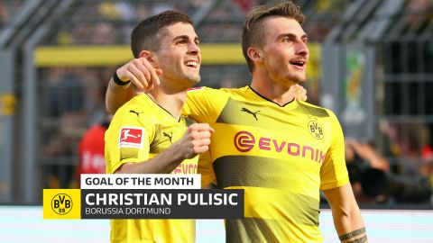 Watch: Pulisic's April Goal of the Month winner!
