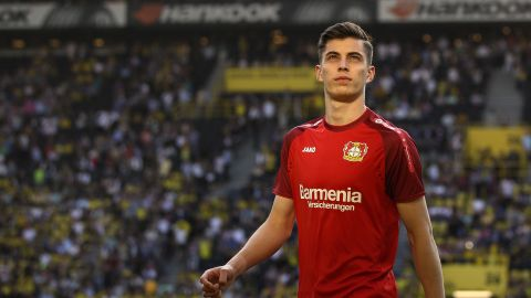 Kai Havertz named Germany's best young player