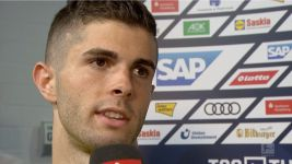 "Watch: Pulisic: ""An up and down season"""