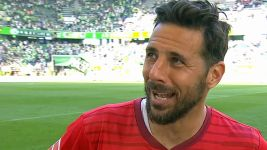"Watch: Pizarro: ""I need some time to think"""