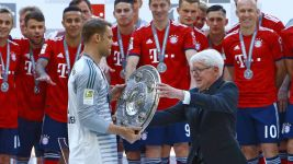 Watch: Bayern celebrate title triumph!