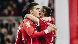 Watch: James' stunning debut season at Bayern