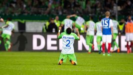 Wolfsburg beat Kiel to stay in the Bundesliga