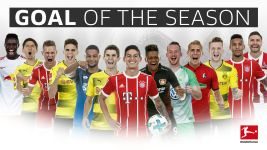 Votingphase beendet: Goal of the Season 2017/18