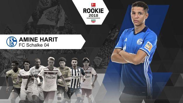 Bundesliga fc schalke 04 39 s amine harit wins bundesliga rookie of the season award - Last season bundesliga table ...