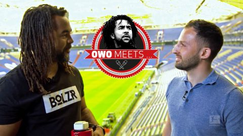 Owo meets Domenico Tedesco