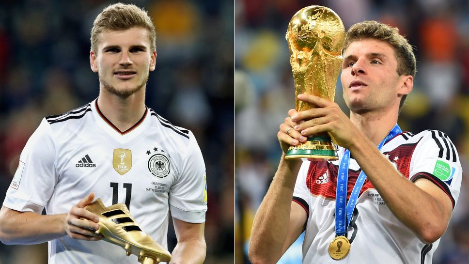 1d93761c008 Bayern Munich forward Thomas Müller has suggested that the 2018 Germany  squad might well be better than the group that lifted the FIFA World Cup in  Brazil ...
