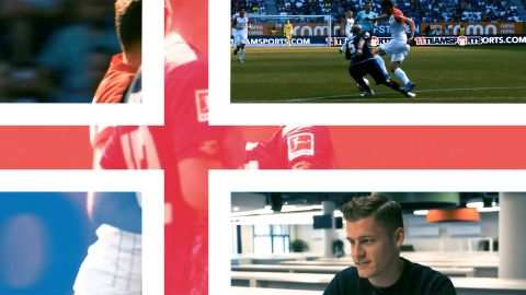 Watch: Finnbogason's road to Russia with Iceland