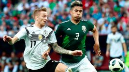 Germany suffer Mexico setback