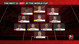 The Bundesliga's World Cup absentees XI