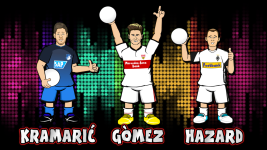 World Cup Bundesliga Dream Team: Striker I!