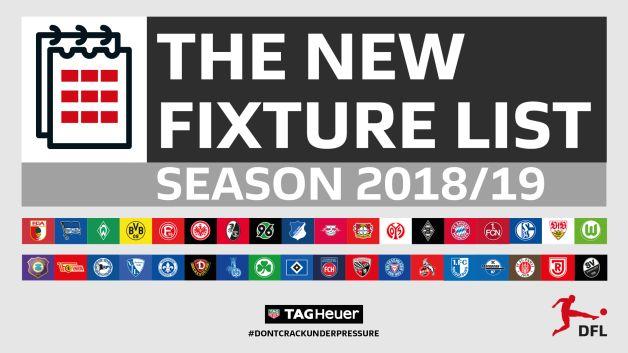 German League Fixtures