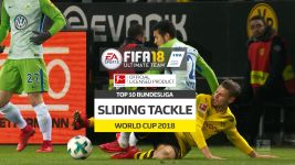 Watch: FIFA 18 Top 10 slide tacklers
