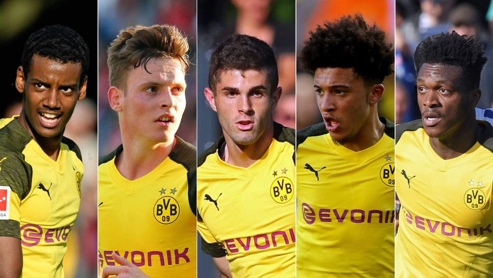 Bundesliga Five Borussia Dortmund Youngsters To Keep Track Of At The International Champions Cup