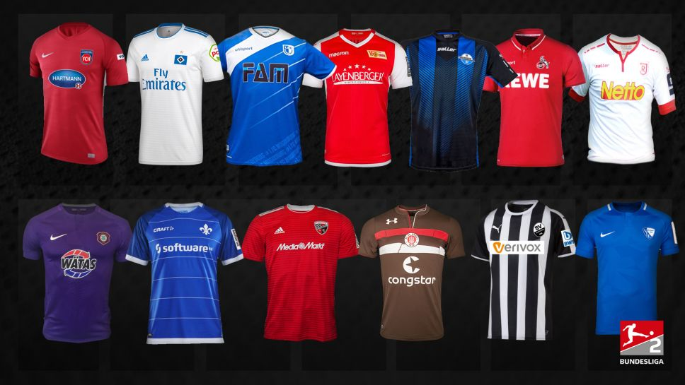 2 Bundesliga Neue 2 Bundesliga Trikots Fur Die Saison