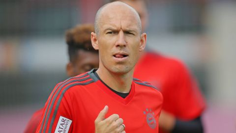"""Every title counts"" - Robben"