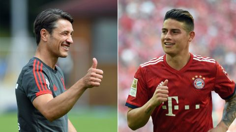 Where will James play under Kovac?