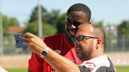 Mateta ready to plunder goals for Mainz