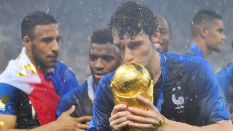 Pavard reveals World Cup final tears