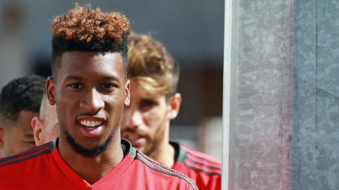 """Hoping to reach my old level"" - Kingsley Coman"