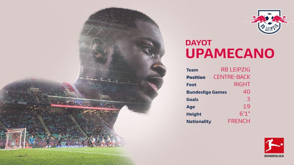Bundesliga Dayot Upamecano The Rb Leipzig Defender With The World At His Assured Feet