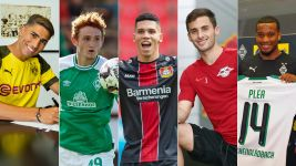 Five new faces to look out for in 2018/19