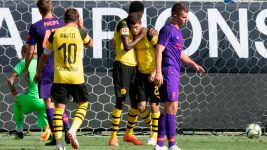 Watch: Pulisic strikes twice as BVB beat Liverpool