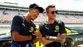 Watch: Sancho and Reus try NASCAR!