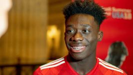 Where will Alphonso Davies play for Bayern Munich?