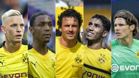 Meet the Borussia Dortmund new boys