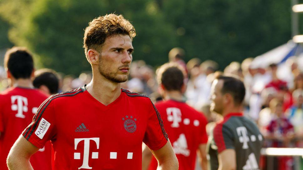 sports shoes ac518 0e676 Bundesliga   Leon Goretzka: 10 things on the Bayern Munich ...
