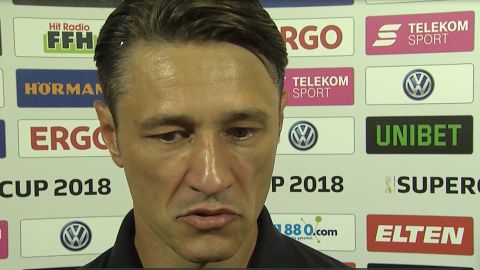 "Watch: Kovac delights in ""special"" Supercup win"