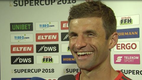 "Watch: Müller says Bayern ""laid marker"""