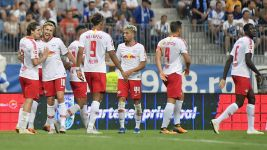 Leipzig a step closer to Europa League groups