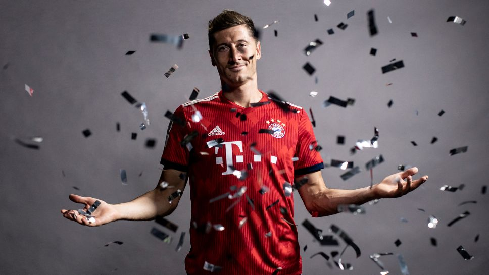 Bundesliga Robert Lewandowski Bayern Munich Striker