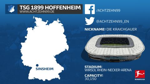 Getting to know: Hoffenheim