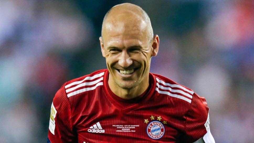 Robben unhappy after not starting in Bayern Munich's ...  |Arjen Robben