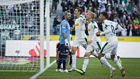Gladbach 2-0 Leverkusen: As it happened